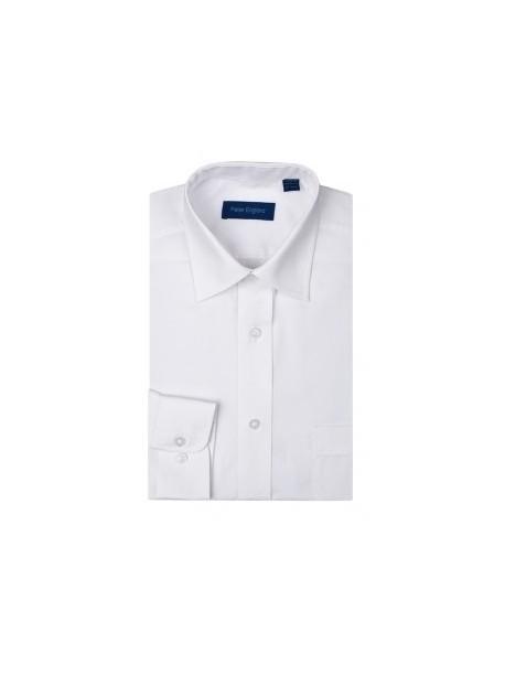 Peter England Plain Pride Shirt White