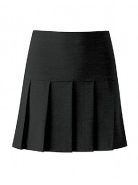 Heathfield Black Pleated Skirt