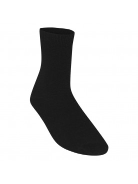 5 pair pack Black socks