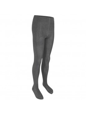 Grey Cotton Tights