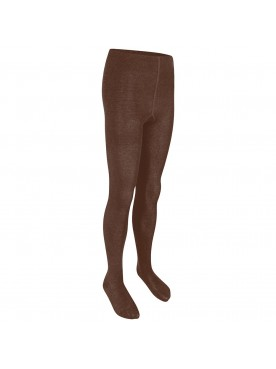 Brown Cotton Tights