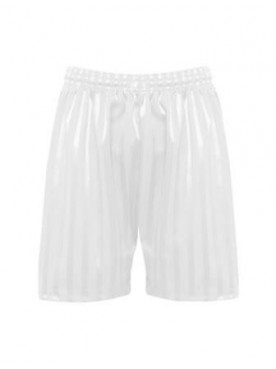 White shadow Shorts