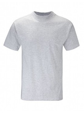 Plain T Shirt Ash