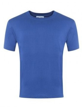 Plain T Shirt Royal
