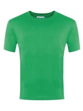 Plain T Shirt Emerald