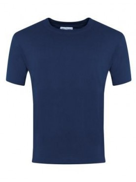 Plain T Shirt Navy