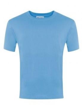 Plain T Shirt Sky