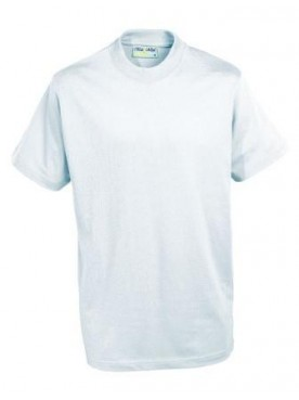Plain T Shirt White