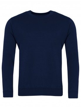 Plain Sweatshirt Navy