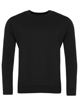 Plain Sweatshirt Black