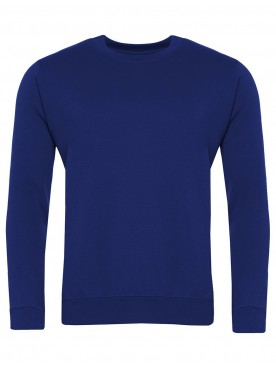 Plain Sweatshirt Royal