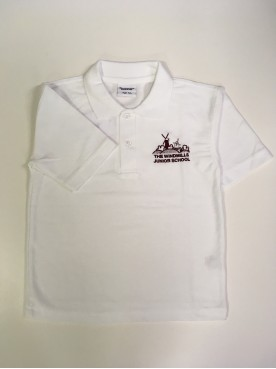 Windmills Polo Shirt with School Logo