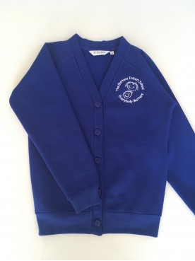 Gattons Cardigan with School Logo