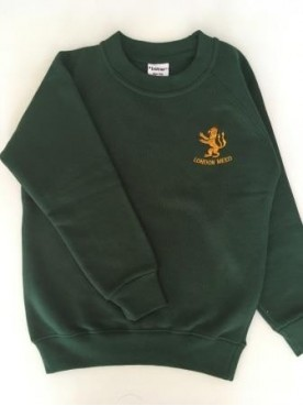 London Meed Sweatshirt with School Logo