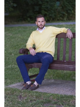 Franco Ponti V Neck Yellow