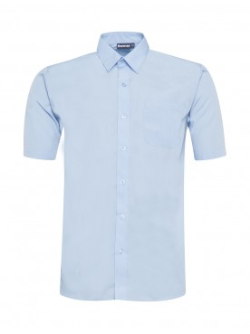 Blue Short Sleeved Shirts Twin Pack