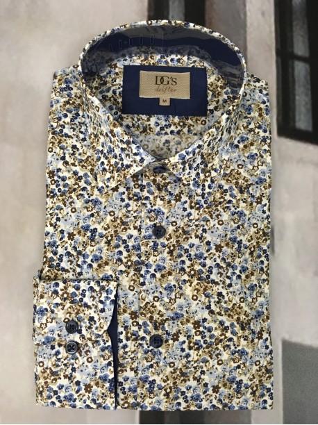 Floral Shirt by Douglas & Graheme