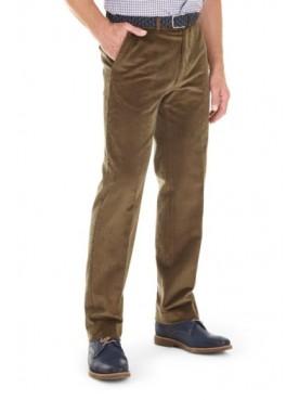 Gurteen Verona Beige Cords Trousers