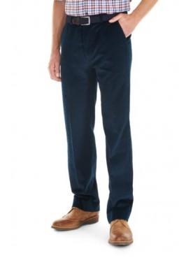 Gurteen Verona Navy Cords Trousers
