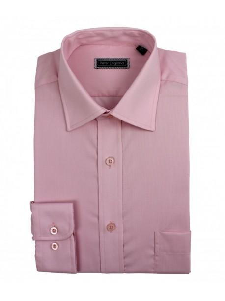 Peter England Pride Shirt Salmon
