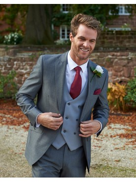 Silver Grey Lounge Suit