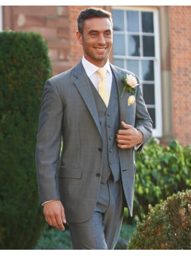 Silver Grey Classic Lounge Suit