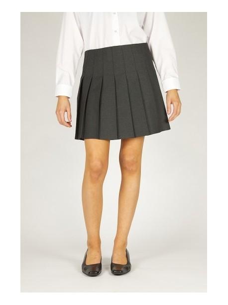 e883c049e Grey Pleated School Skirt - Broadbridges