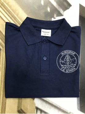Albourne Navy Polo