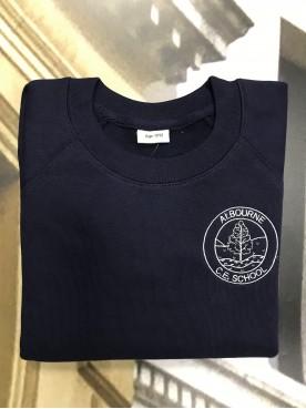Albourne Navy Sweatshirt