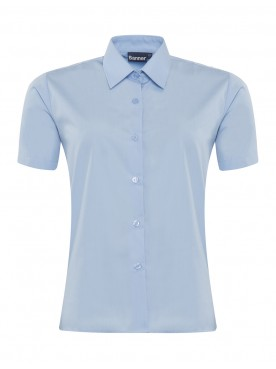 Blue Short Sleeved Blouse Twin Pack