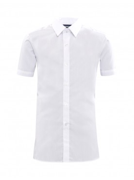 White Short Sleeved Shirts TWIN PACK
