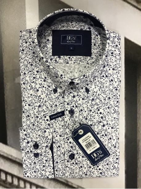 Floral Shirt by Douglas and Grahame