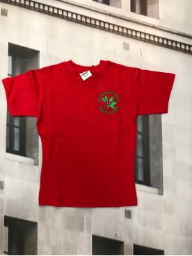 Wisborough Green P.E T Shirt Red