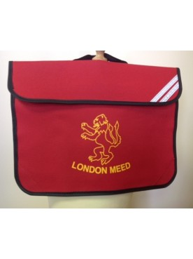 London Meed Book Bag Red