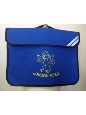 London Meed Book Bag Blue