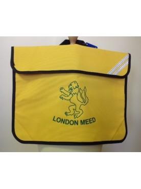 London Meed Book Bag Yellow