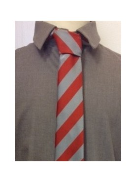 Sompting Grey/Red Tie